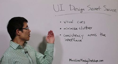Movie Line Monday - UI Design for Cloud Security Products