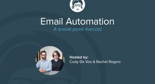 Email Automation: A Sneak Peek Livecast