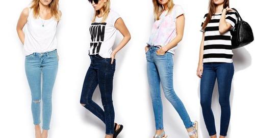 Makin Stylish dengan Skinny Jeans