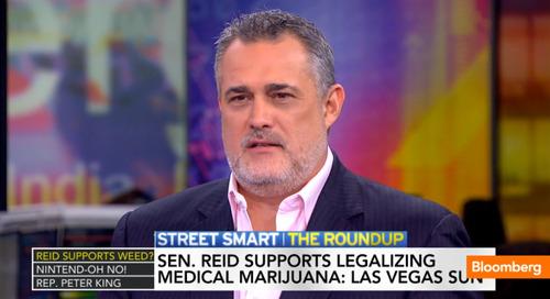 "Sen. Reid says ""I Support Legalizing Medical Marijuana"""