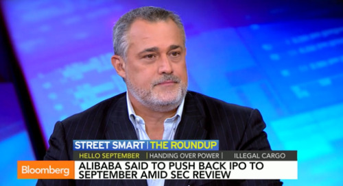 Bloomberg Roundup: Alibaba, Forbes, Fedex