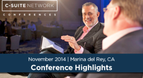 Hayzlett Recap: C-Suite Network Conference