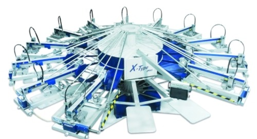 MHM Offers New X-Type Plus Compact High Speed Automatic Textile Press