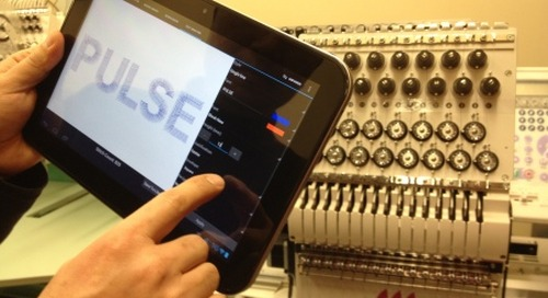 Embroider By Remote Control With New Pulse Sidekick Software