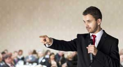 Six Public Speaking Tips That Help Your Marketing, Too