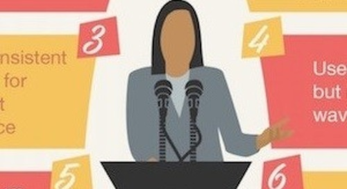 Nine Steps for Public Speaking Like a Pro [Infographic]