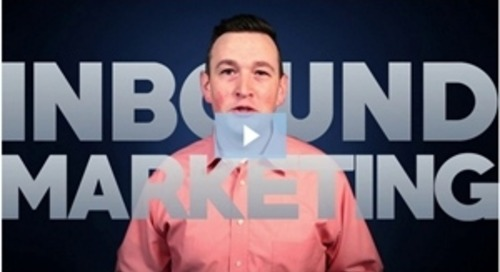 Marketing Video: When Inbound Marketing by Itself Isn't Enough