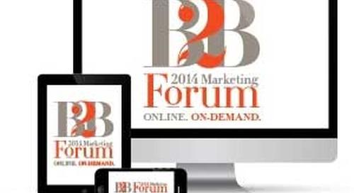 2014 B2B Forum Day 1: A Sampling of Session Recaps