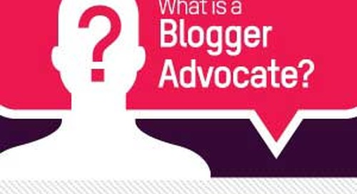 Tips for Working With Blogger Advocates [Infographic]