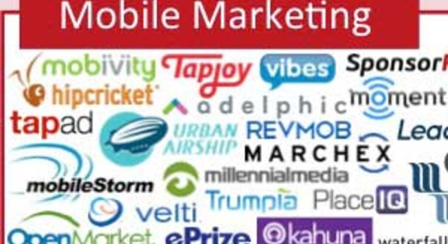 Today's Marketing Technology Landscape [Infographic]