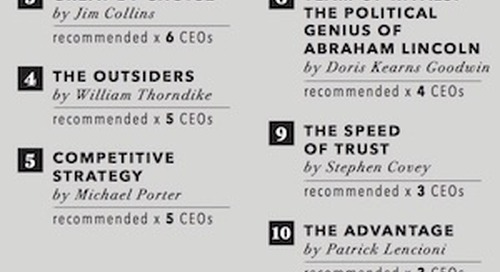 The Top 10 Books Recommended by Fortune 500 CEOs