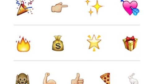 The Emojis Used Most by Brands in Marketing Messages