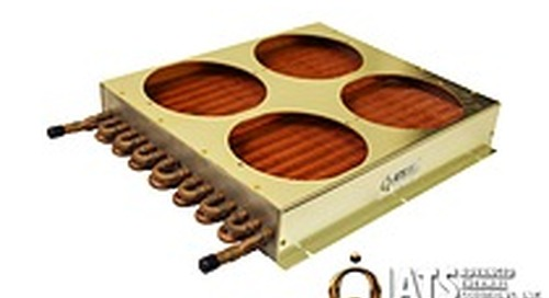 New ATS tube-to-fin, liquid-to-air heat exchangers push boundaries of technology with industry's highest density fins