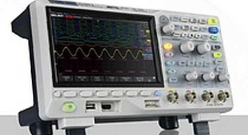"Saelig Intros Economical 4-Channel 100/200MHz Siglent SDS1000X-E ""Super Phosphor"" Oscilloscopes"