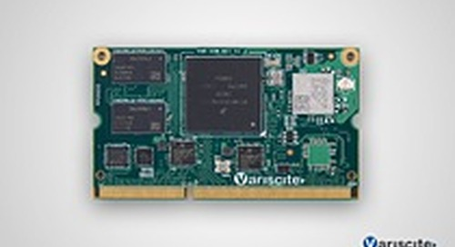 VAR-SOM-MX7 Variant with Improved Dual-band 802.11ac/a/b/g/n Wi-Fi Module