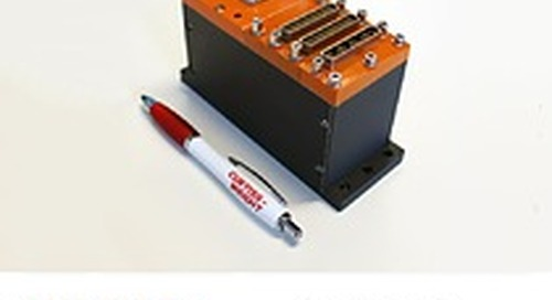 Curtiss-Wright's Axon Next-Gen Compact Flight Test Data Acquisition Unit is Shipping