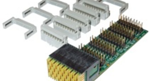 VPX RTM access simplified: Technobox 8600 paddle card eases rear signal access and interconnects for VPX