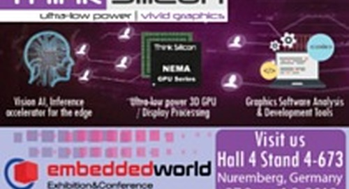 Building the solutions for tomorrow - Embedded World 2018