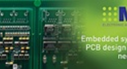 A step-by-step guide to planning and designing a PCB assembly for an embedded system
