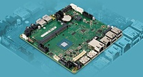 "MSC Technologies delivers industrial Mini-STX mainboard from Fujitsu with Intel Celeron processors ""Gemini Lake"""