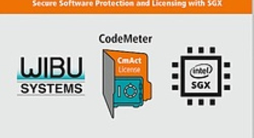 Wibu-systems enriches the Intel Sgx ecosystem with a new security solution