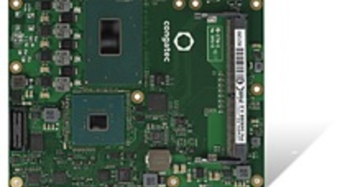 congatec releases COM Express Computer-on-Modules with 8th Gen Intel Xeon and Intel Core processors