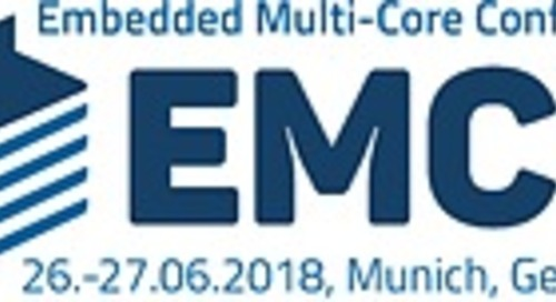 #EMCC2018 - 4th Embedded Multi-Core Conference in Munich