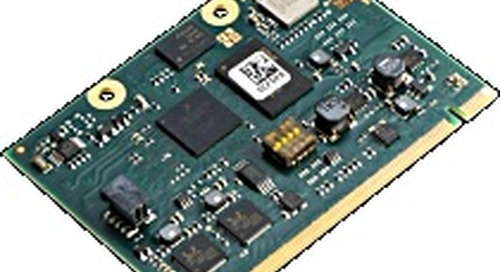 NXP QorIQ LS1012A Layerscape ARM Cortex-A53 Communications Processor on efus A53LS