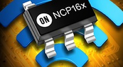 ON Semiconductor announces ultra-high PSRR LDO regulators