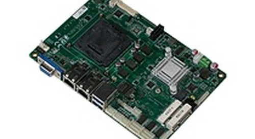 """All the power of a Mini-ITX SBC on a 4"""" board - the AAEON EPIC-KBS8"""