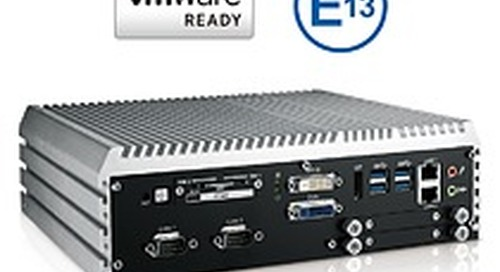 Vecow ECS-9000 Series workstation-grade embedded systems get E Mark certification