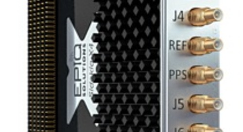 New High Channel High Bandwidth RF Transceiver Provides Advantage for Military and Defense Applications