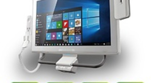 Medical panel PC and monitor in one