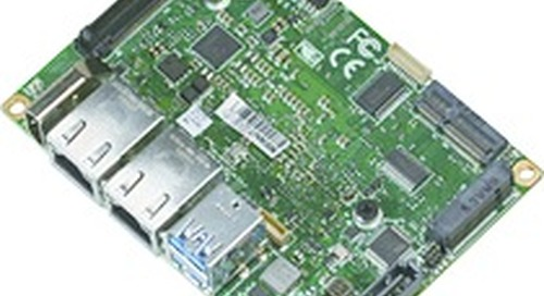 AAEON's PICO-APL4 simplifies IoT gateway and factory automation systems