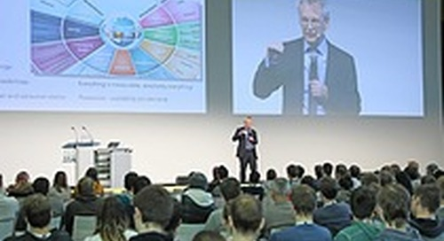 Annual networking highlight for students at Embedded World