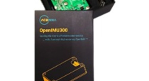 ACEINNA Launches the First Open Source IMU Development Kit for Drones, Robots and AGVs