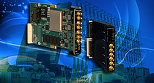 Pentek Adds ANSI/VITA 49.2 Protocol to High-Speed Data Acquisition Boards for Defense, Radar and Communication Applications