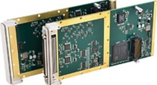 Acromag's New Multi-function I/O XMC Mezzanine Modules Feature A/D, D/A, and Digital I/O Channels to Conserve I/O Slots