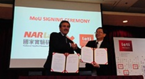 Leti and Taiwanese National Applied Research Laboratories Announce Collaboration for Microelectronics Innovation