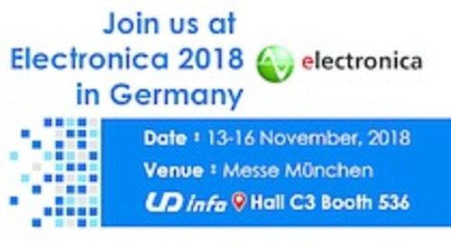 UDinfo to Attend Electronica 2018
