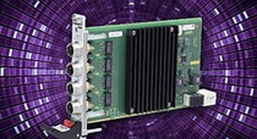G211X - Four Gigabit Ethernet Channels over M12-X and CompactPCI Serial