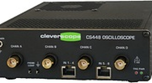 Saelig Announces Improved Unique Isolated High Voltage 4-Ch 200MHz Oscilloscope CS448