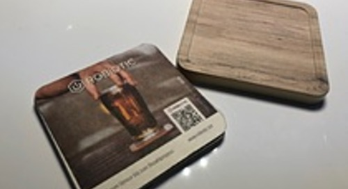 Connected Beer Coasters, Smart Tags and Bar Scanners with Salesforce