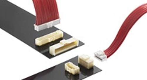 Molex Releases New Pico-Clasp Wire-to-Board Connectors