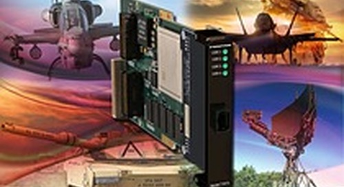 Pentek's Jade Architecture SOSA Aligned LVDS XMC Module with Optical I/O Now Available