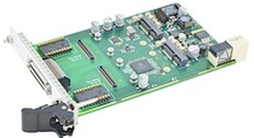 New CompactPCI Serial Carrier Card Hosts Two AcroPack Industrial I/O Modules for Data Acquisition, Control, or FPGA Processing