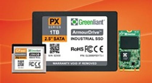 "Greenliant Expands Industrial Temperature SATA ArmourDrive Offerings with 2.5"", M.2 2242 and CFast Form Factors"