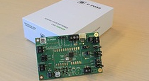 e-peas Applies its Ultra-Low Power Technology to Thermally-Based Energy Harvesting