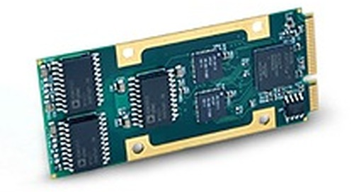Acromag's new CAN bus interface module features four isolated channels on a ruggedized Mini-PCIe form factor