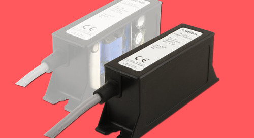 Powerbox's encapsulated power supply is ready for industrial system integration